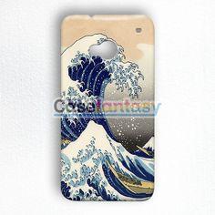 Great Wave Of Kanagawa HTC One M7 Case | casefantasy