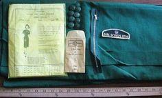 Vtg Modes Royale Sr Girl Scout Uniform Pattern - Sealed (04/05/2011)