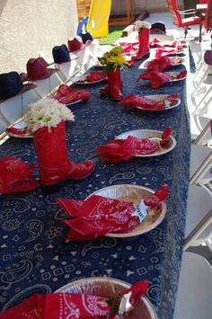 Decorating Ideas For Adult Western Party