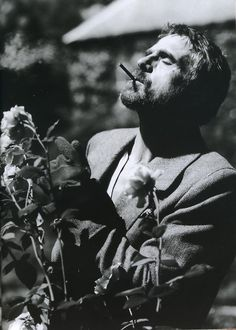 Jeremy Irons in L'Uomo photographer unknown