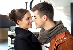 Kim und Emilio #VerboteneLiebe l Bild: ARD/Anja Glitsch Erich Fried, Drama, Couple Photos, Couples, Words, Quotes, School, Movies, Forbidden Love