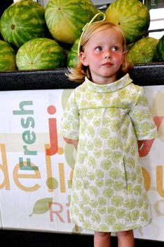 Beautiful version of view A - Oliver + S School Photo Dress