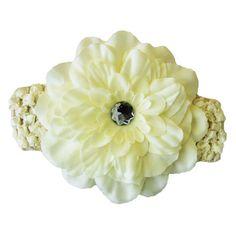 Ivory Peony Flower Headband Peony Flower, Flowers, Peonies, Ivory, Hair Accessories, Stud Earrings, Jewelry, Jewlery, Bijoux