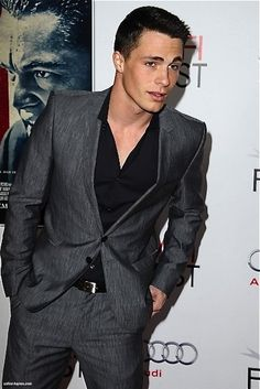 Colton Haynes is yet another actor from Teen Wolf that I LOVE.
