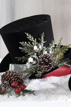 43 Pretty Christmas Hat Ideas That Trending In 2020 Christmas Party Hats, Holiday Hats, Christmas Tops, Christmas Colors, Christmas Themes, Christmas Holidays, Christmas Costumes, Xmas, Christmas Villages