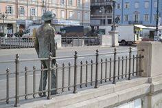 Statua di James Joyce. Trieste. @Simonetta Di Zanutto #Madeinfvg
