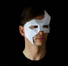 PHANTOM Mask Easy and quick to make mask with this PDF