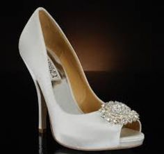 172c1c4f59ae Shop designer Badgley Mischka wedding shoes at My Glass Slipper.