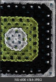 Different Kinda Granny Square - free crochet pattern