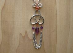 Game of Thrones Inspired Celtic Triquetra Amethyst by Banba, $35.00