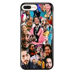 Post Malone Picture Collage iPhone 7 Plus Case Iphone 7 Plus Cases, Iphone 11, Apple Iphone, Collage Iphone, Post Malone, Galaxy Note 10, Phone Cover, Galaxies, Rapper
