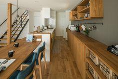 キッチン/草津市 M様邸 | 滋賀で設計士とつくる注文住宅 ルポハウス