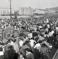 Centrálne trhovisko na Trnavskom mýte v roku 1963. Zdroj obr: Archív TASR (www.vtedy.sk)
