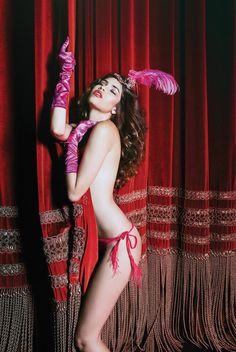 Veronika Istomina & Nicole Meyer For Incanto Lingerie Holiday 2014 - 3 Sensual Fashion Editorials | Art Exhibits - Anne of Carversville Women's News