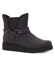 Look at this #zulilyfind! Black Glen Shearling Boot - Women #zulilyfinds