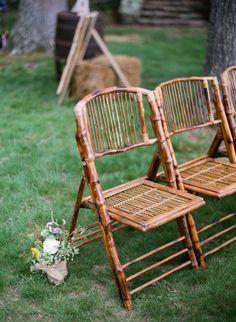 Wicker chairs: http://www.stylemepretty.com/virginia-weddings/middleburg/2015/06/24/romantic-hunt-country-wedding-in-virginia/ | Photography: Kristen Lynne - http://kristenlynne.com/