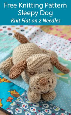 Easy Knitting, Loom Knitting, Knitting Stitches, Knitting Patterns Free, Crochet Patterns, Knitted Teddy Bear, Teddy Bears, In Natura, Merry Christmas