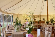 Ellie and Tom did such a great job decorating our Petal marquee! http://ow.ly/X48E30fbsno  #vintagemarquee #vintagewedding @_LauraLou