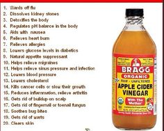 Bragg apple cider vinegar benefits. This is the brand of vinegar to drink. It still has all the nutrients in it.