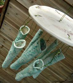 Ceramic Wind-Chimes