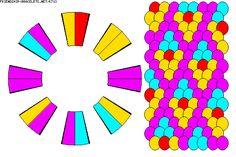 Learn to make your own colorful bracelets of threads or yarn. Kumihimo Bracelet, Bracelet Fil, Bracelet Making, Braid Patterns, Do It Yourself Projects, Peyote Stitch, Colorful Bracelets, Hobbies And Crafts, Bracelet Patterns