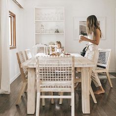 Egg Chairs Nursery - - - Wooden Chairs Homemade - Red Accent Chairs For Living Room - Modern Wooden Dining Chairs Br House, At Home Furniture Store, Furniture Online, Cheap Furniture, Beautiful Dining Rooms, Teak Table, Decoration Inspiration, Decor Ideas, Dining Room Design