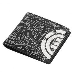 ELEMENT Daily Boy Wallet portefeuille black 29,00 € #skate #skateboard…