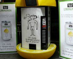 Smart Vending Machine Lowers Prices on Hot Days
