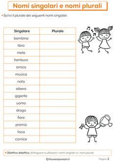 Italian Language, Learning Italian, Speech Therapy, Teaching, School, Adele, Alphabet, Activities, Speech Language Therapy