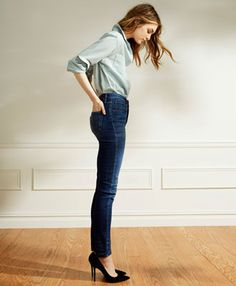 Shop for this easy day-to-night look with all the essentials like high rise skinny jeans and a boyfriend shirt at Levi's! Even better, save 30% on your purchase site wide with your Abenity Discount Program! https://discounts.abenity.com/perks/offer/37:44569