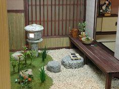 早春坪庭750 Japanese garden