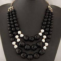b7f08ba9aaae collares de moda 2014 de perlas de colores - Buscar con Google