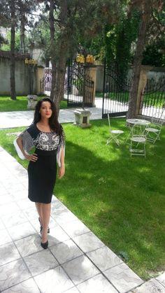 Always stylish with black&white! #yokko #womensfashion #dresses