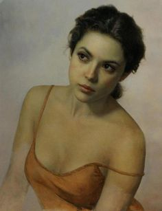 Prenda Intima Oil on Canvas 19x15 in  by Cesar Santos http://www.santocesar.com/Prenda_Intima.html (Thx Bo)