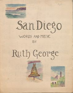 San Diego.  Vince Meades Sheet Music Collection.