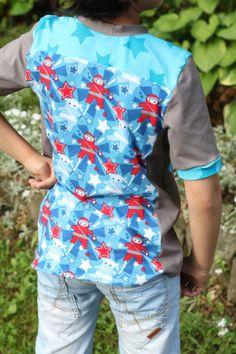 nähen, sewing for boys, ninja, lillestoff, enemenemeins