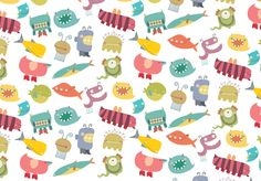 Patterns by Maira Chiodi, via Behance