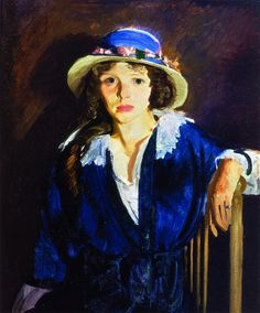 George Bellows - 1914 Madeline Davis, tempera on canvas