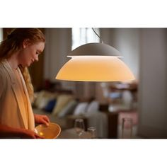 Philips HUE Beyond taklampe Hvit White Light, Light Up, Philips Hue, Sweet Home, Ceiling Lights, Design, Color, Home Decor, Living Room