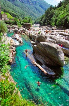 Valle Verzasca - Canton of Ticino, Switzerland
