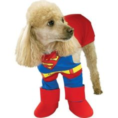 Classic Superman Dog Costume - Party City