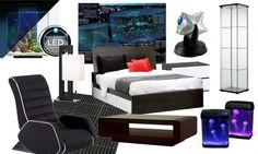Mass Effect-inspiration Bedroom Decor
