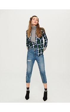 Jeansy GIRLFRIEND, Spodnie, jeansy, niebieski, RESERVED