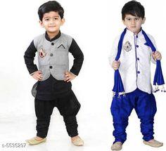 Sherwanis Kid's Boy's Sherwani's Fabric : Art Silk  Sleeves: Long Sleeves  Pattern: Solid  Multipack: 2 Sizes:  4-5 Years (Chest Size: 27 in)  5-6 Years (Chest Size: 28 in)  1-2 Years (Chest Size: 23 in)  3-4 Years (Chest Size: 25 in)  6-7 Years (Chest Size: 29 in)  2-3 Years (Chest Size: 24 in) 7-8 Years (Chest Size: 30 in) Country of Origin: India Sizes Available: 2-3 Years, 3-4 Years, 4-5 Years, 5-6 Years, 6-7 Years, 7-8 Years, 1-2 Years   Catalog Rating: ★4 (8555)  Catalog Name: Princess Elegant Kids Boys Sherwanis CatalogID_827120 C58-SC1172 Code: 705-5535297-