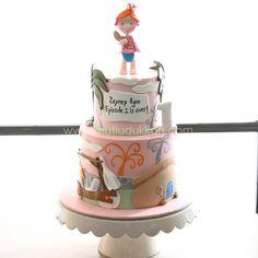 Emma flinstone cake