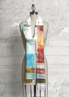 Modal Scarf - SHADES OF GRASS by VIDA VIDA