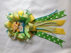 Lion king baby shower mommy to be bow by Marshmallowfavors on Etsy, $25.00