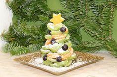 Godt og Sunt: Fruktfat i julefarger