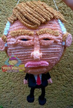 Piñata Donald Trump... pedido especial ya que nadie se resiste a darle de palos. Buen inicio de semana a todos.