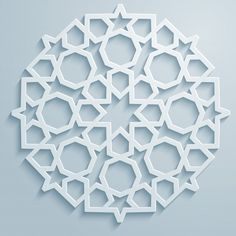 Geometric ornament arabic round pattern background - persian decorative - Buy this stock vector and explore similar vectors at Adobe Stock Islamic Motifs, Islamic Art Pattern, Arabic Pattern, Pattern Art, Pattern Design, Old Paper Background, Geometric Background, Background Patterns, Arabesque